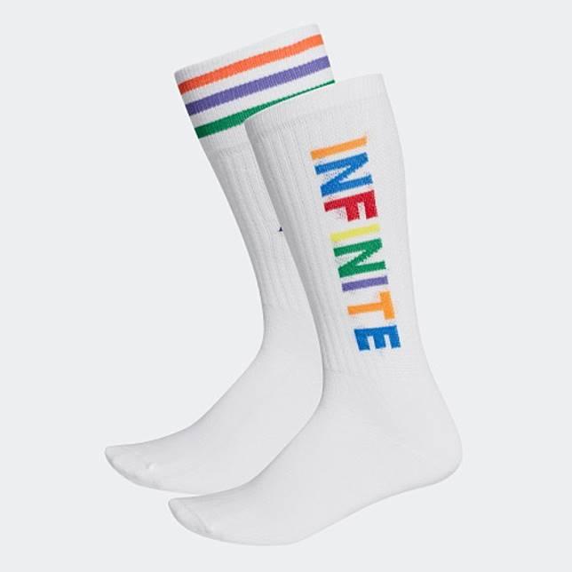 adidas TBIITD 3 Stripes彩色間條襪 (互聯網)