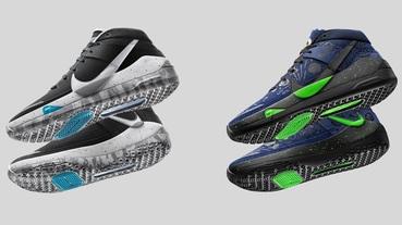 官方新聞 / Nike Zoom KD13 首款黑白配色及「籃球之星」臺灣 4 月 6 日登場