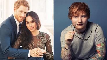 這個組合太棒了!傳 Ed Sheeran 為哈利王子、Meghan 的婚禮擔任表演嘉賓