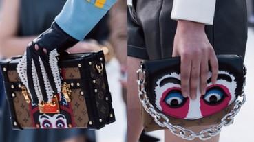 歌舞伎面具也能喚醒物慾?Louis Vuitton 2018 早春手袋,完美地向日本時裝大師山本寬齋致敬!