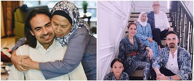 Ungkapan duka ibunda Ashraf Sinclair atas kepergian sang putra