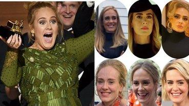 暴瘦 Adele 被狂指神似 《美國恐怖故事》香蕉姐 Sarah Paulson,她首度驚恐回應!