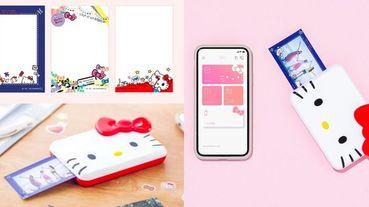 Canon與三麗鷗推出「Hello Kitty相印機」!超可愛相框、迷你收納包,連APP都是凱蒂貓主題