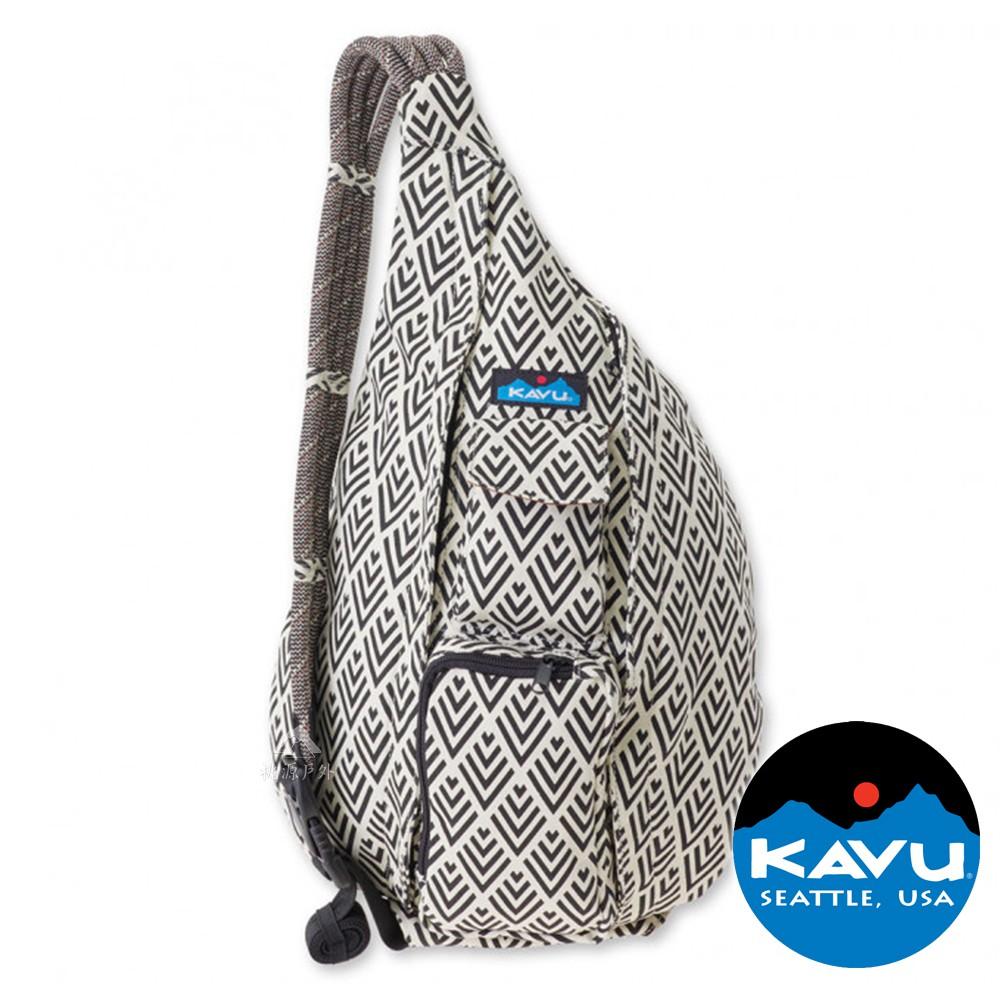 【KAVU】Rope Bag休閒斜肩背包『裝飾磁磚』923-590 戶外.休閒.旅遊.旅行.露營.斜背包.後背包.雙肩包