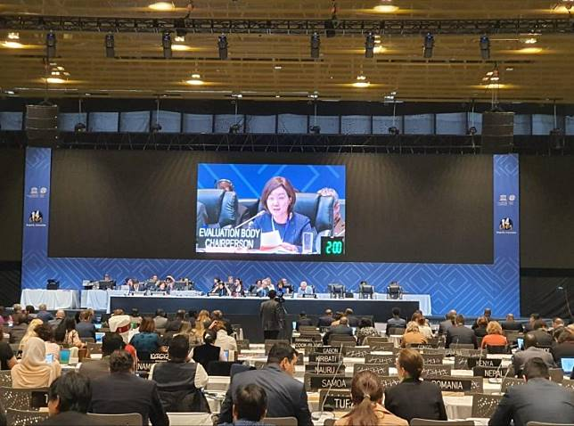 Delegates from around the world await the final decision about new additions to UNESCO's intangible world heritage list at the 14th UNESCO inter-ministerial General Assembly in Bogota, Colombia, on Dec. 12.