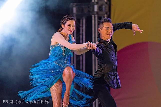 ▲劉真(左)曾透露最喜歡跳舞時的自己。(圖/翻攝臉書)