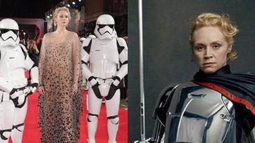 法斯瑪隊長太威武!身高 191 公分 Gwendoline Christie 領軍《星際大戰 8》白兵超霸氣!