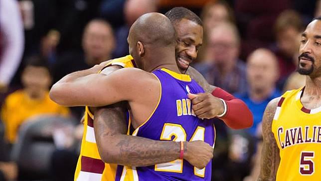 LeBron James dan Kobe Bryant