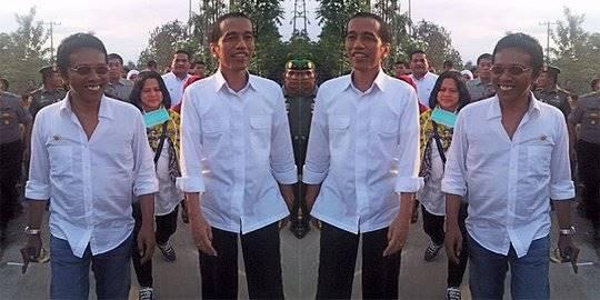 Adian Napitupulu dan Jokowi. ©2014 merdeka.com/istimewa