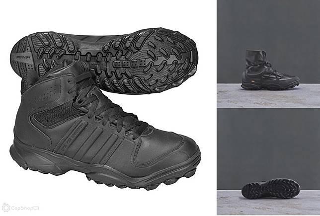 TYPE O-3設計靈感源自adidas攀山靴款GSC9。(互聯網)