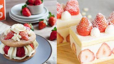 終於等到你!「深夜裡的法國手工甜點」推出內用店!限定口味草莓生乳布雪、法國栗子泥草莓塔快閃開賣!