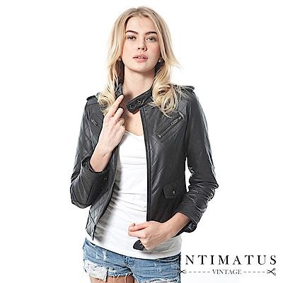 100% 小羊皮,輕薄硬挺帥氣微軍裝風,經典黑色帥氣加倍台灣設計打版,專為亞洲消費者量身打造自有工廠,品質嚴格把關