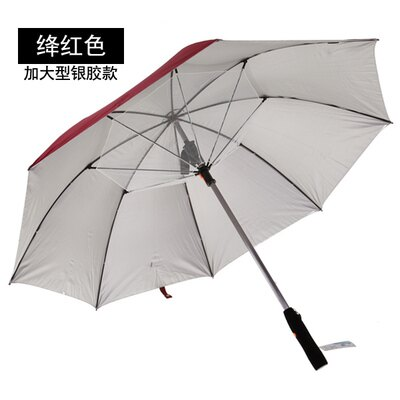 風扇傘創意加大遮陽傘太陽傘加強抗風直杆晴雨傘長柄傘