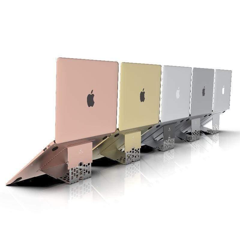 最輕薄護頸筆電架共五款 最輕薄護頸筆電架 - 閃銀色 1 組