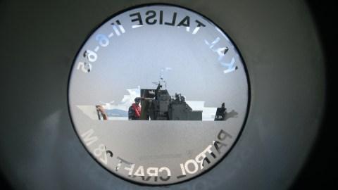 Foto: Kapal Perang Produksi Dalam Negeri untuk Patroli Laut di Palu