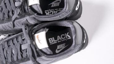 鞋迷必收! BLACK CDG × Nike Waffle Racer 闇黑系簡約復古跑鞋抵台販售