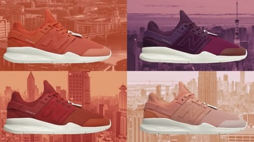 新聞分享 / 舒適沒有時差 New Balance The New 247 'Time Zone' Pack 集結四大城市