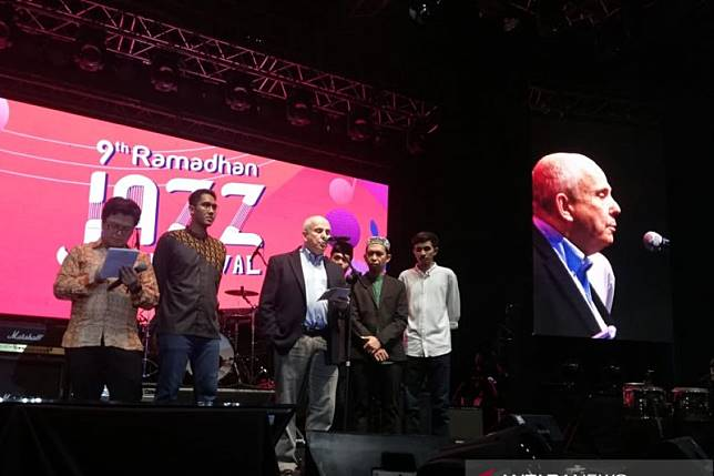 Dubes AS ternyata penonton setia Ramadhan Jazz Festival