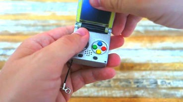 比手掌還細 神人DIY超迷你GBA遊戲機