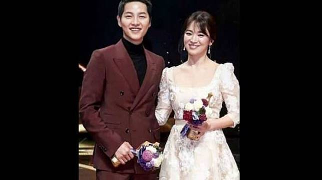 Song Hye Kyo dan Song Joong Ki. [Instagram]