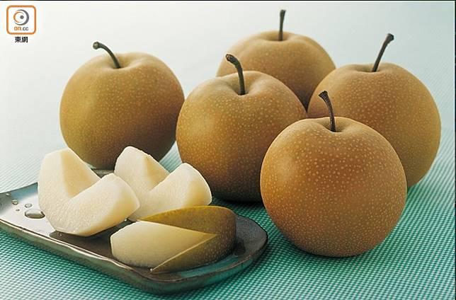 和水晶梨相比,豐水梨的食用日期較短,故要快吃以免果肉變腍。(資料圖片)