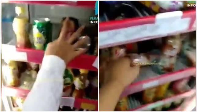 Viral Video Remaja Obrak-abrik Minuman di Minimarket, Usai Tertangkap Justru Nangis Sesenggukan Saat Diminta Tanggung Jawab