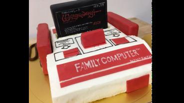 超想要紅白機蛋糕,手把外接 卡帶還可以插拔