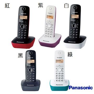【國際牌Panasonic】數位無線電話 KX-TG1611TW(公司貨)