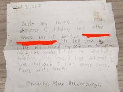 Surat yang Dihanyutkan ke Laut 9 Tahun Lalu Ini Mendapat Balasan