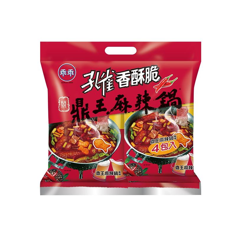孔雀香酥脆鼎王麻辣鍋4包入
