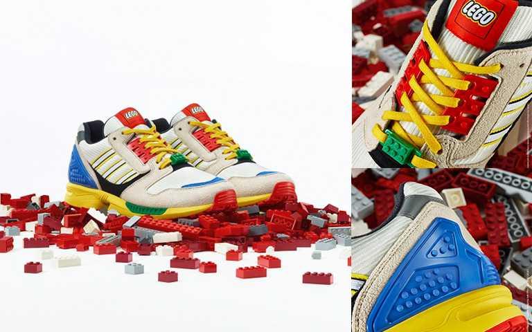 adidas Originals LEGO聯名款ZX8000男生鞋款/NT4,890,9/25wbr style=