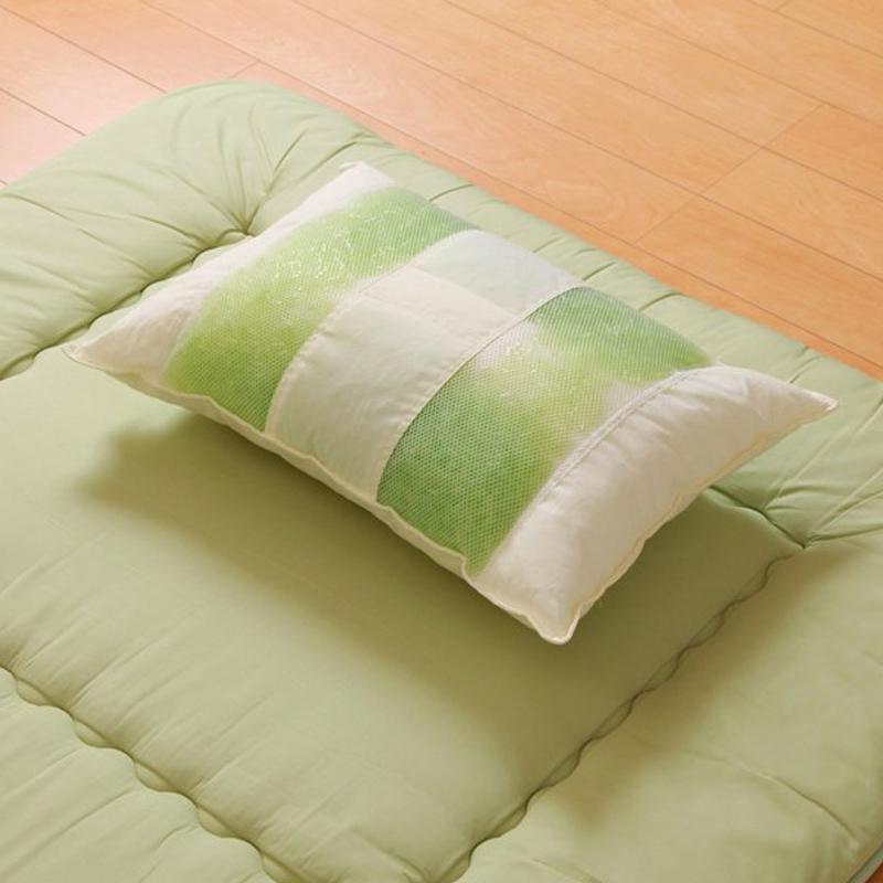 青森絲柏精油枕頭(日本製造)35x50cm-稍高