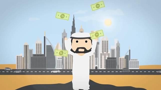Negara-negara Timur sana terkenal dengan kekayaan minyaknya. Dan, minyak juga yang membuat negara-negara sana menjadi kaya raya. Lalu, apa jadinya kalau minyak habis?