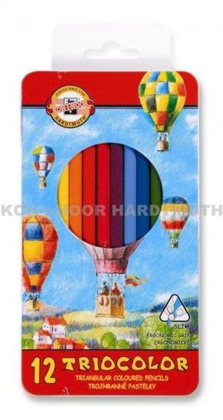 捷克製KOH-I-NOR 彩色鉛筆熱氣球系列*3132