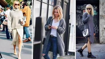 秋天就是要買「針織衫」!基本款穿搭立刻變時尚