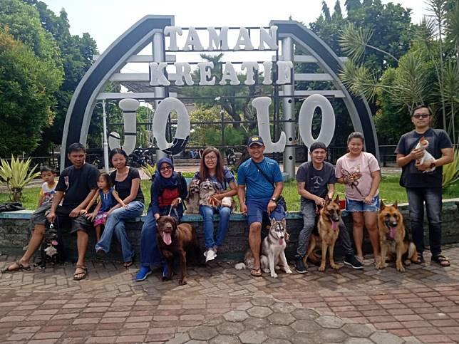 Dog Lovers Cianjur Kampanyekan Tolak Animal Abuse