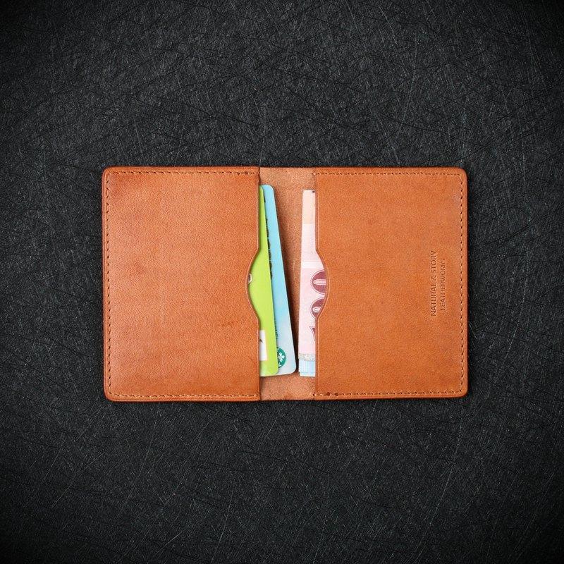 【NS手工皮件】卡片夾、名片夾、短夾 (免費打印)