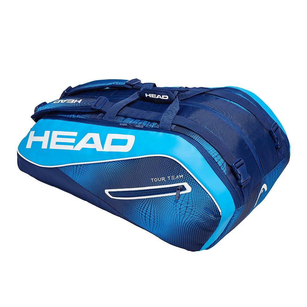 HEAD奧地利 Tour Team Monstercombi 12支裝球拍袋-海軍藍 283109