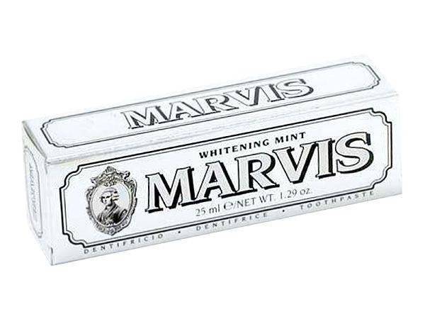 義大利 MARVIS 牙膏(銀-亮白薄荷)25ml【D110322】