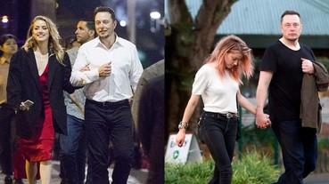 披著真實版「鋼鐵人」外套!強尼戴普前妻 Amber Heard 與伊隆馬斯克浪漫約會!