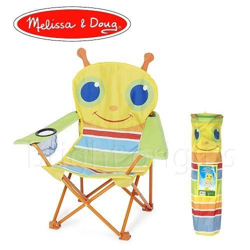 Melissa Doug 兒童戶外露營椅 - 小蜜蜂(6694)