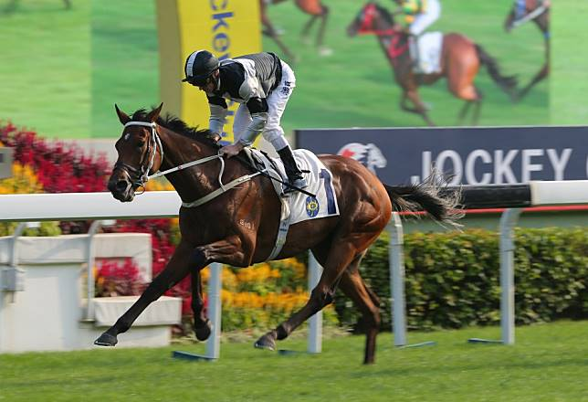 Exultant tunes up for Hong Kong Vase with classy Jockey Club Cup victory