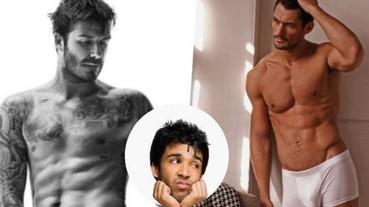 男星廣告露肌 男人坦言看了心理壓力大
