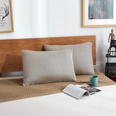 獨立網芯枕片,高低自調 獨特彈力結構、全面支撐釋壓
