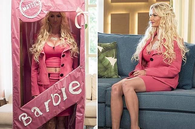 Kerry Miles si Barbie Hidup