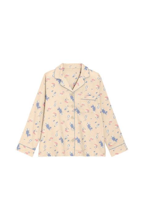 女裝法蘭絨家居服組Moomin_328745_30(上衣)