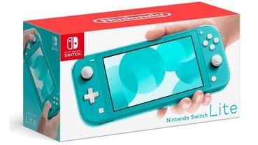 任天堂Switch Lite開始預售,售價199.99美元