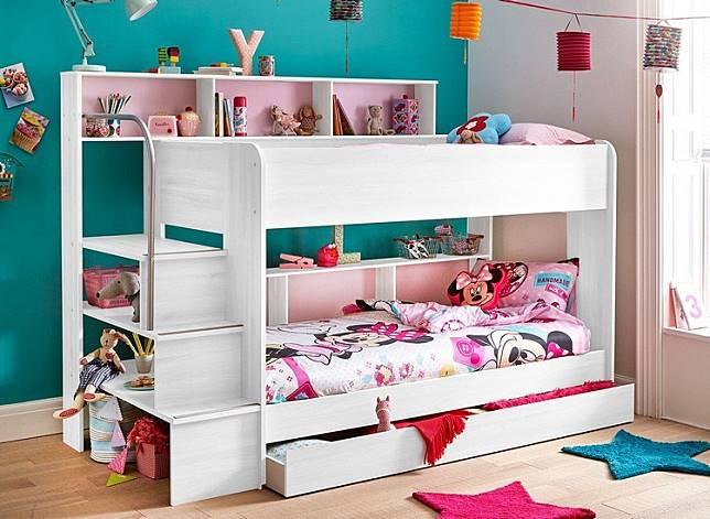 Gemas Banget 6 Desain Tempat Tidur Anak Tingkat Ini Bikin Betah Di Kamar Dekoruma Com Line Today
