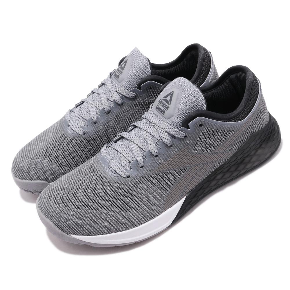 REEBOK 訓練鞋 Nano 9 低筒 運動 男鞋 健身房 透氣 舒適 避震 訓練 穿搭 灰 [FU6827]