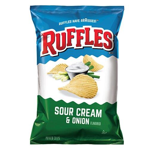 Ruffles洋芋片-洋蔥口味184.2g【愛買】